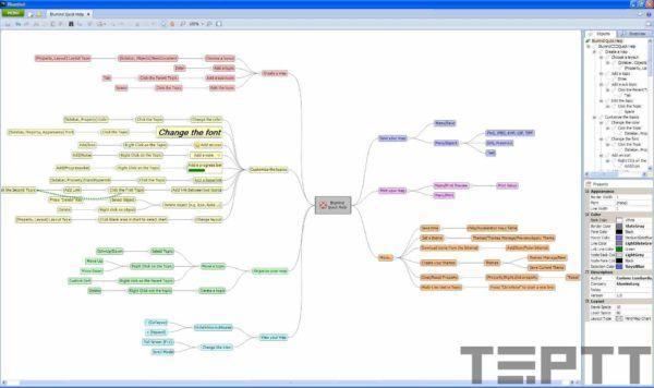 phần mềm vẽ mindmap