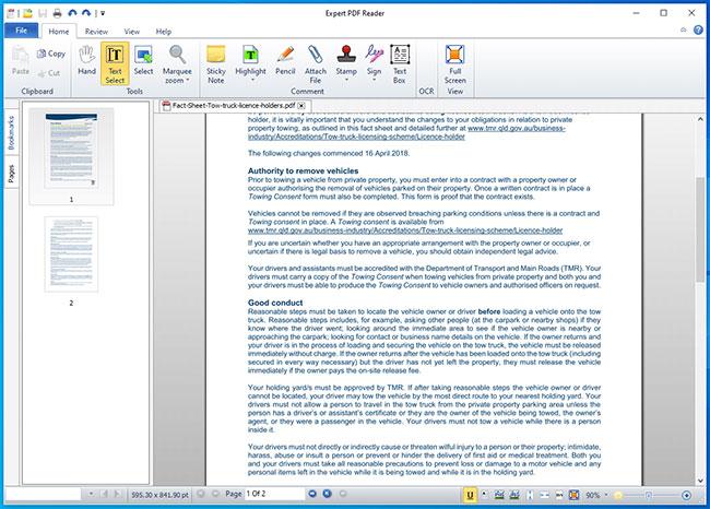 tải phần mềm đọc pdf
