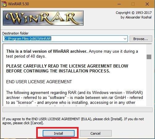 tải WinRAR 64bit