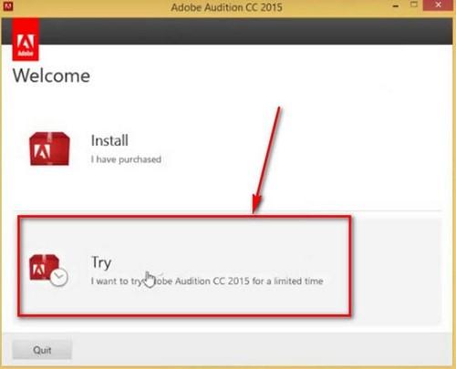 Tải Adobe Audition