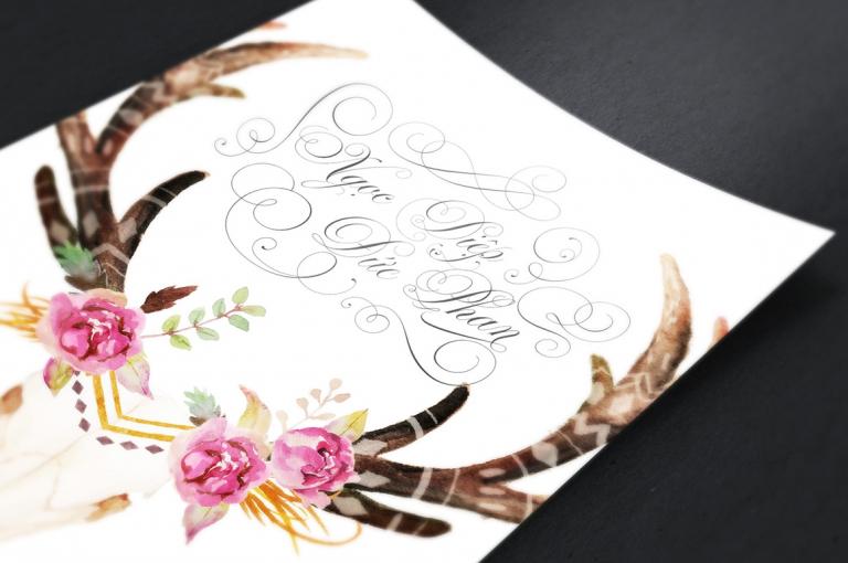 Font chữ thiệp cưới