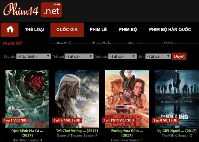 web phim phim14.net