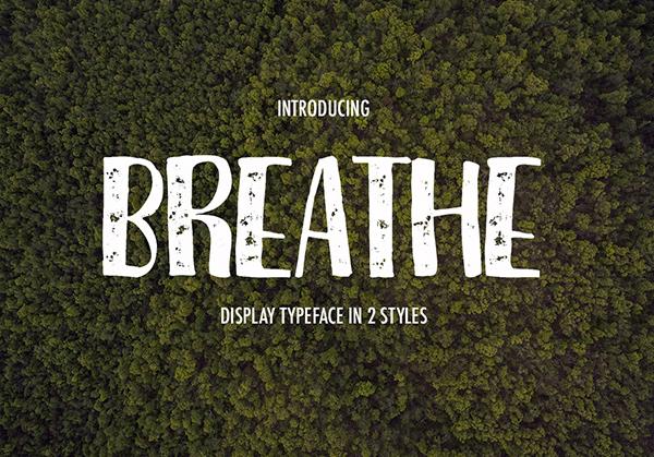 Font Breathe