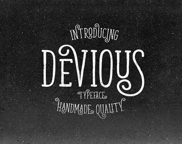 Devious Font