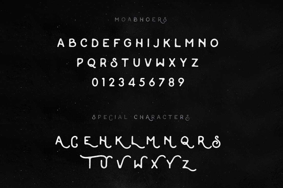 Font Moabhoers Free
